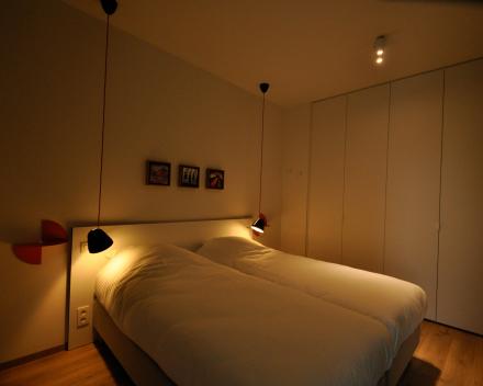 1 slaapkamerappartement slaapkamer