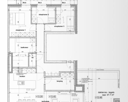 Penthouse groundplan